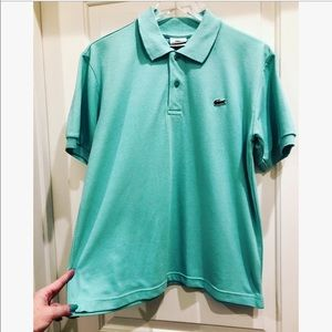 Lacoste Classic Polo Shirt Light Green Size L/5